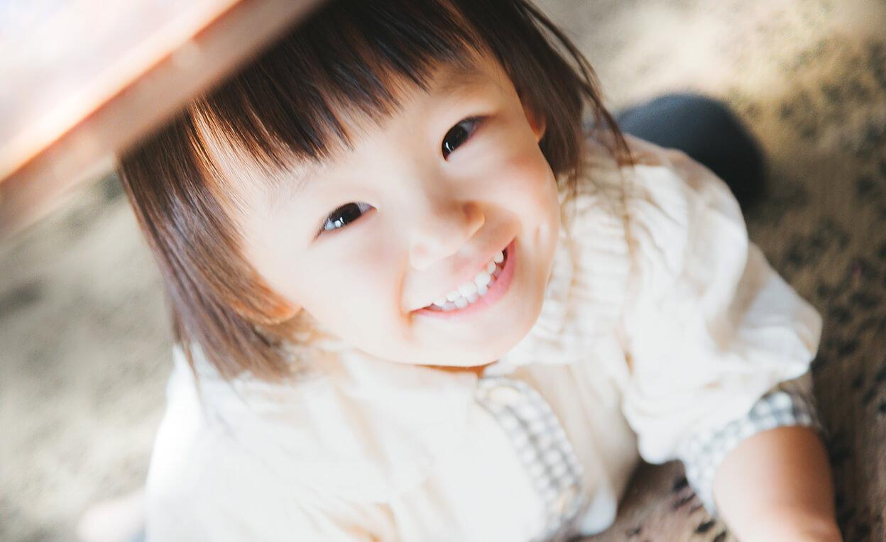 赤ちゃんの視線