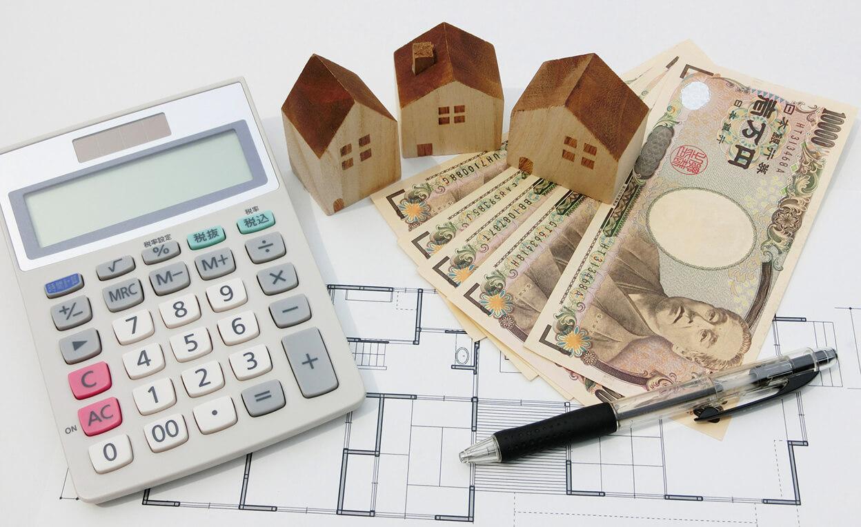 家の模型と計算機